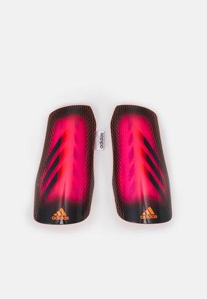 Espinilleras - shock pink/black/scrora
