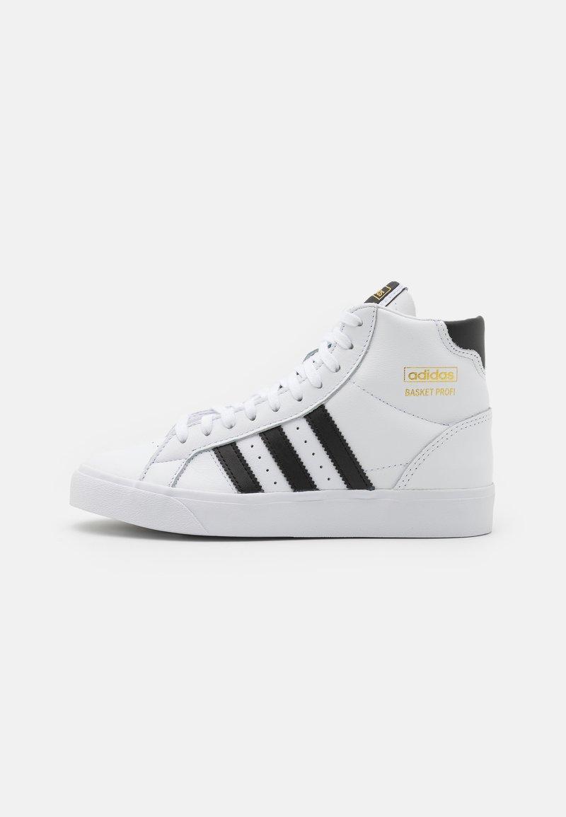 adidas Originals - BASKET PROFI UNISEX - High-top trainers - footwear white/core black/gold metallic