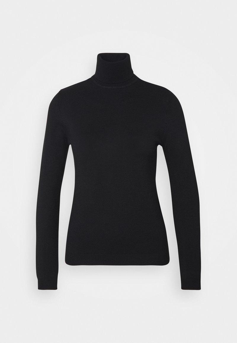 Pieces - PCESERA  ROLLNECK - Pullover - black