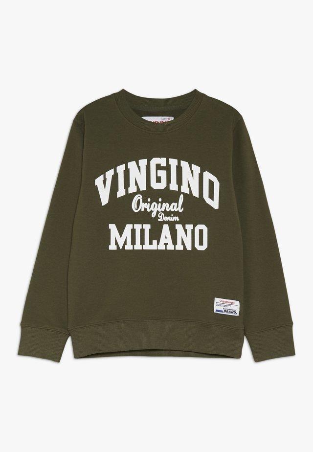 NAMRY - Sweater - olive night