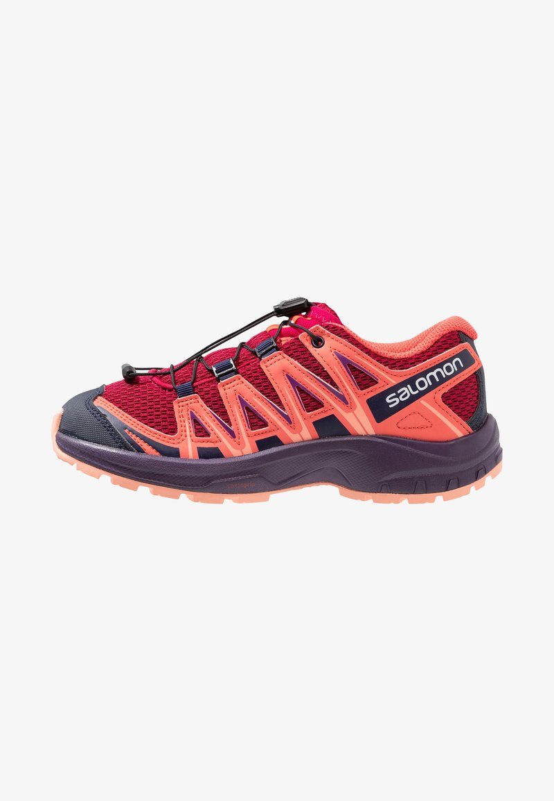 Salomon - XA PRO 3D  - Obuwie hikingowe - cerise/dubarry/peach amber