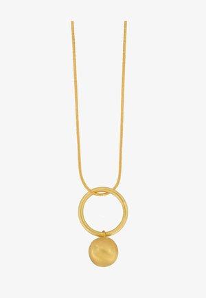 TABITHA OPEN CIRCLE - Kaulakoru - gold plating
