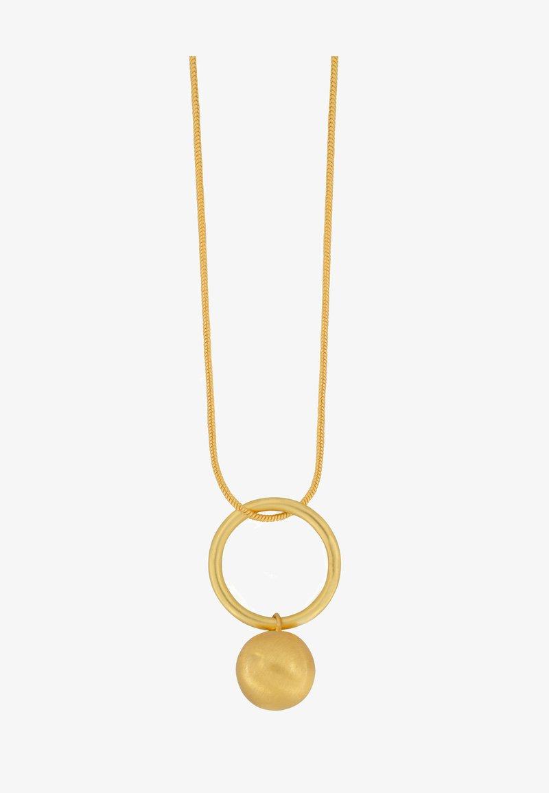 Dansk Copenhagen - TABITHA OPEN CIRCLE - Kaulakoru - gold plating