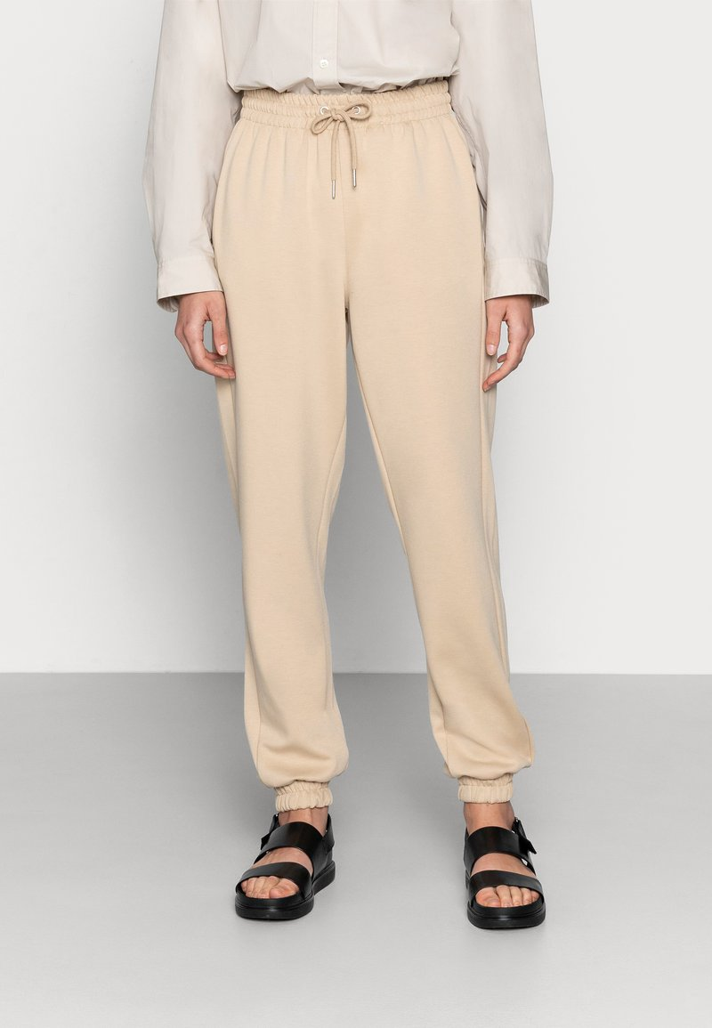 Soft Rebels - CARA PANT - Tracksuit bottoms - white pepper