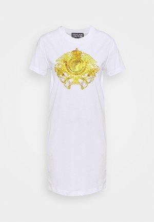 LADY DRESS - Jersey dress - optical white