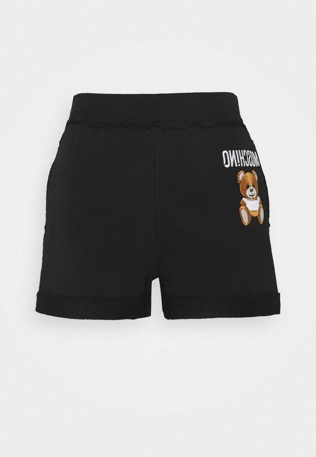 TROUSERS - Shorts - black