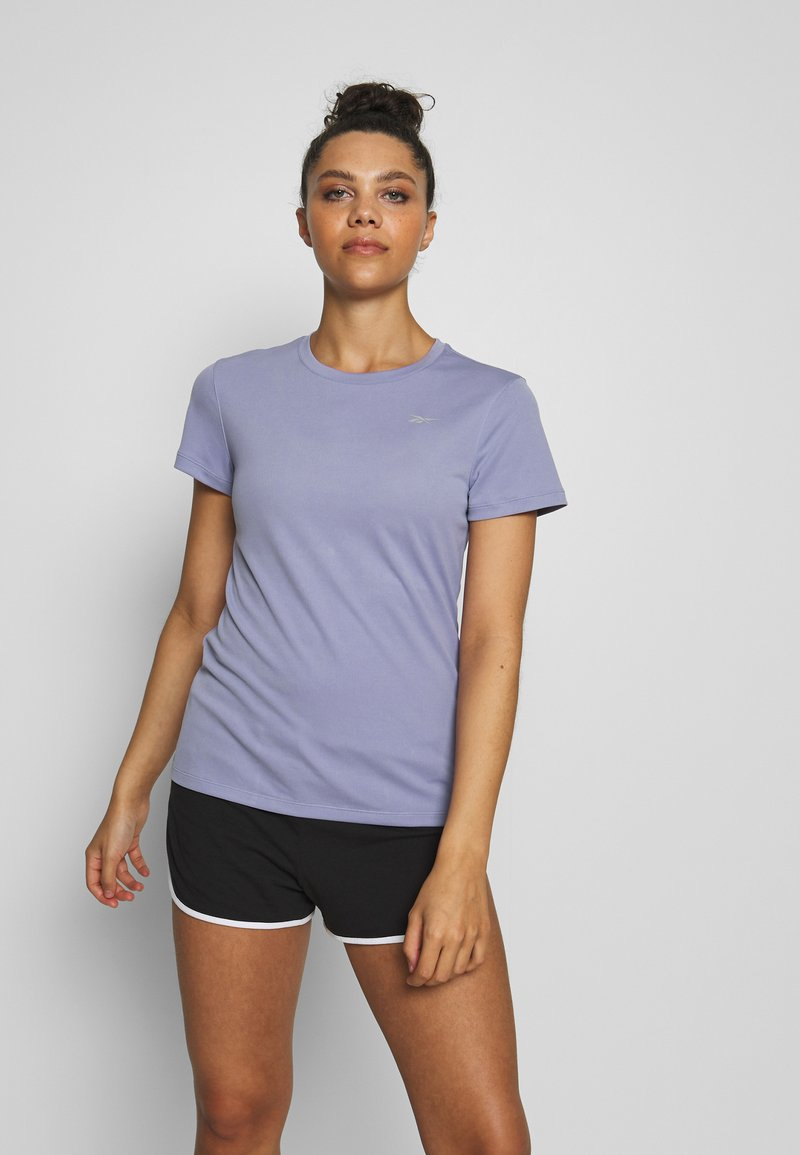 Reebok - Print T-shirt - purple
