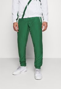 Lacoste Sport - SET TENNIS TRACKSUIT HOODED - Dres - white/green - 6