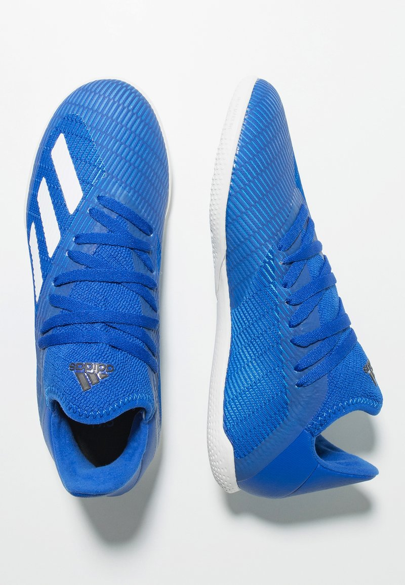 adidas Performance - Indoor football boots - royal blue/footwear white/core black