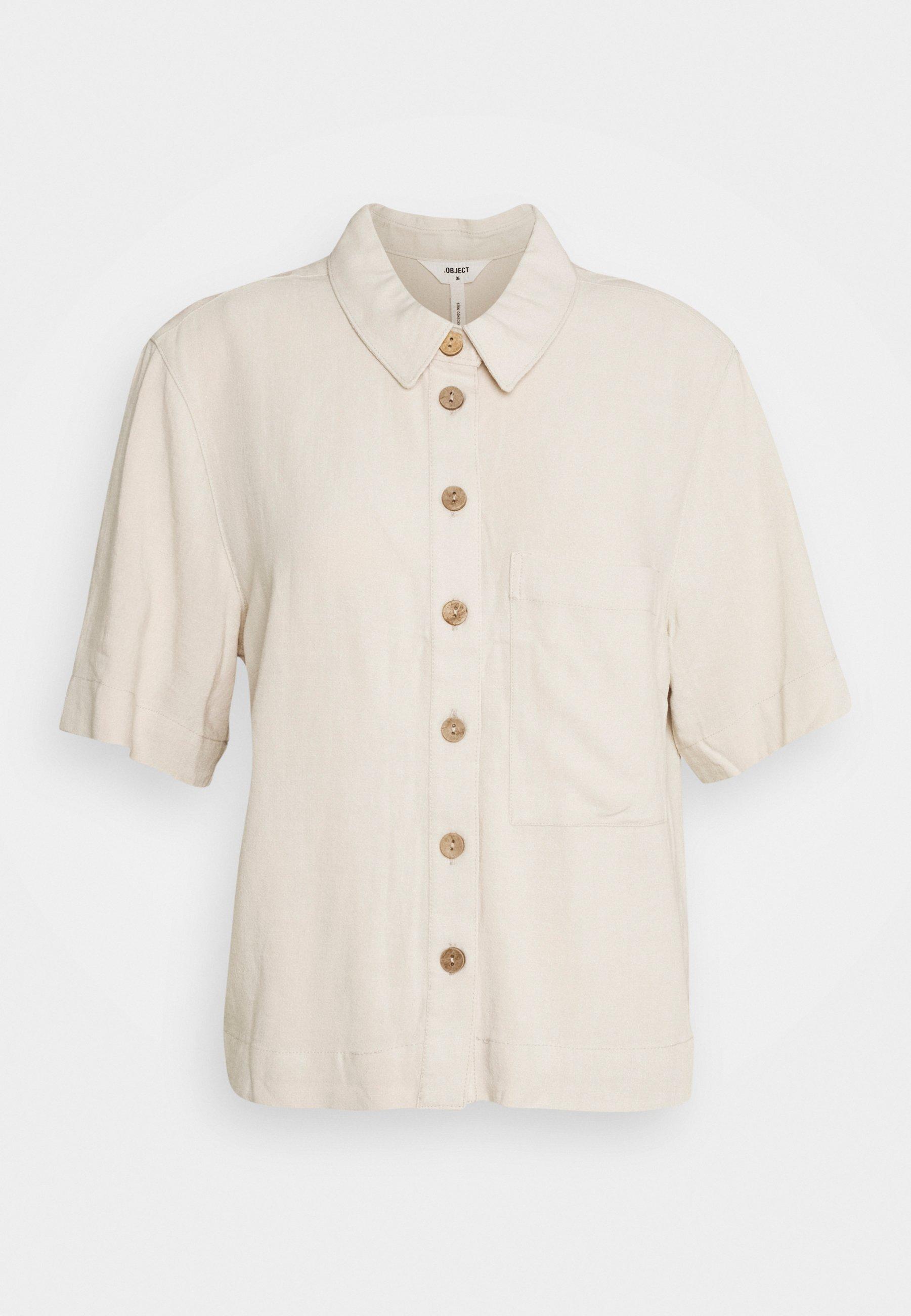 Women OBJHADY - Button-down blouse