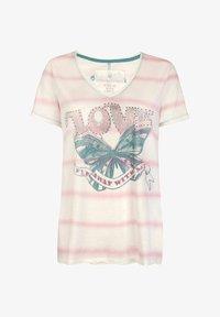 Lieblingsstück - MAILAL - Print T-shirt - light pink - 0