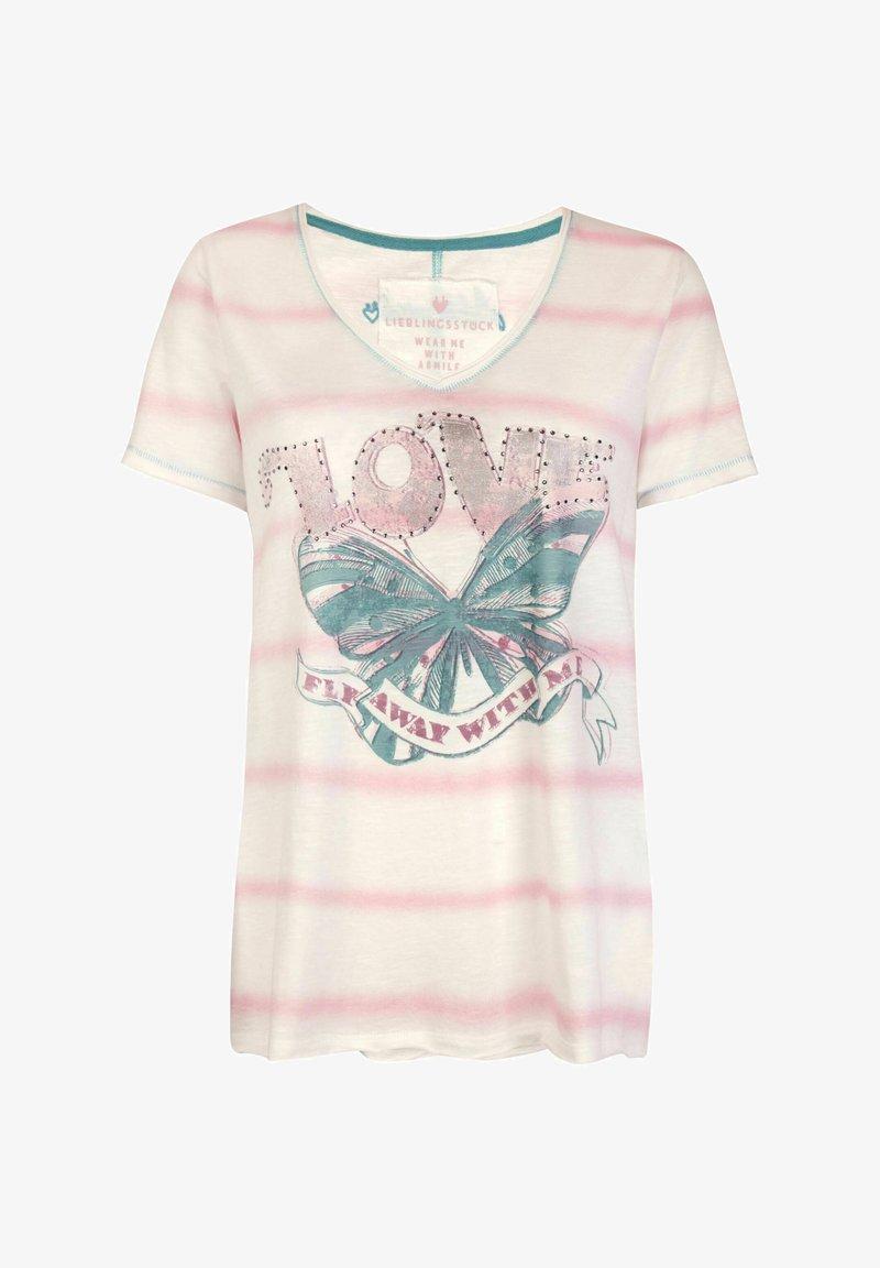 Lieblingsstück - MAILAL - Print T-shirt - light pink