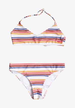 Bikini - bright white confi stripe