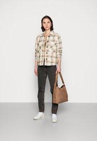 Mos Mosh - LUCA ALTHEA JACKET - Summer jacket - grape leaf - 1