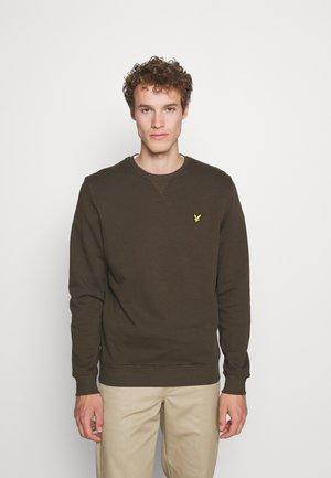 CREW NECK  - Sweater - olive