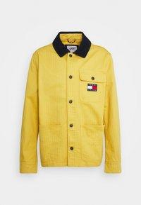 Tommy Jeans - BADGE WORKER JACKET - Summer jacket - gold - 5