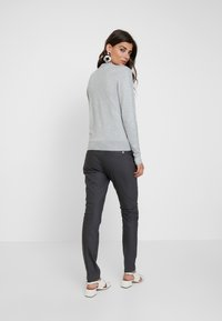 Mos Mosh - ABBEY PANT  - Trousers - antracite - 2