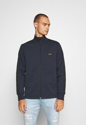 SOLID MIX BACK LOGO JACKET - Giacca leggera - blue