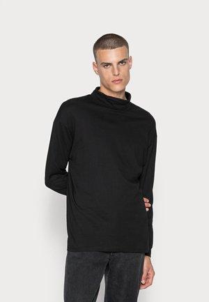 JORBRINK ROLL NECK - Bluzka z długim rękawem - black