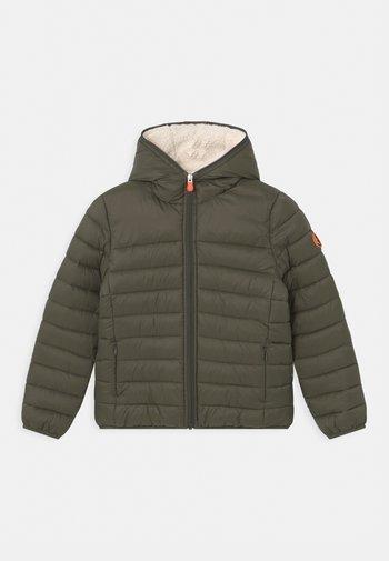GIGA ROB UNISEX - Winter jacket - thyme green