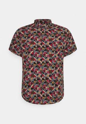 BUTLER PRINT - Shirt - rust