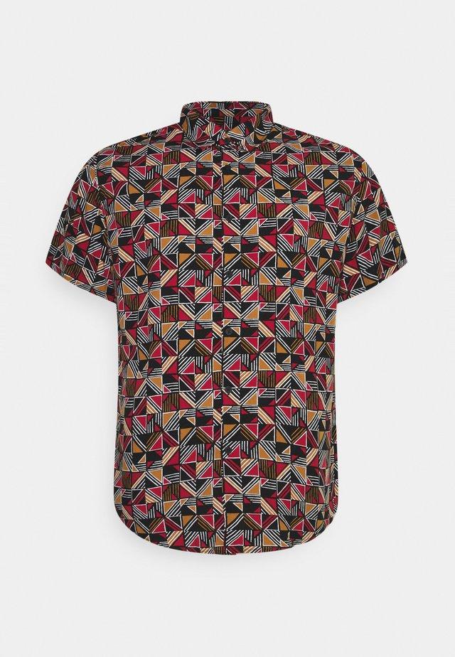 BUTLER PRINT - Overhemd - rust