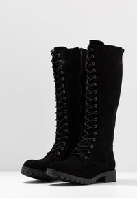 s.Oliver - BOOTS - Lace-up boots - black - 4