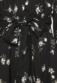 Vero Moda - VMFALLIE TIE DRESS - Skjortekjole - black - 8