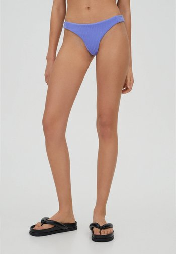 Bikini bottoms - mottled dark purple