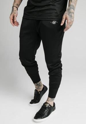 SIKSILK TRANQUIL DUAL CUFF PANT - Pantalon de survêtement - black