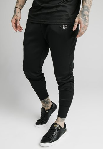 SIKSILK TRANQUIL DUAL CUFF PANT - Pantaloni sportivi - black