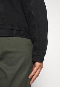 AllSaints - ALDER JACKET - Denim jacket - black - 5
