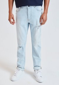 PULL&BEAR - Slim fit jeans - blue - 0