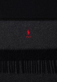 Polo Ralph Lauren - SCARF - Sciarpa - black/charcoal - 2