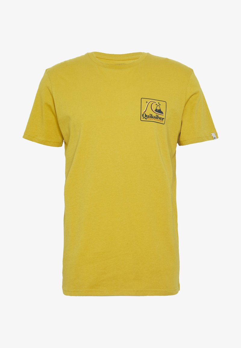 Quiksilver - BEACH TONES - Print T-shirt - honey