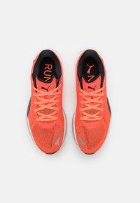 Puma - VELOCITY NITRO - Neutral running shoes - lava blast/black/silver - 3