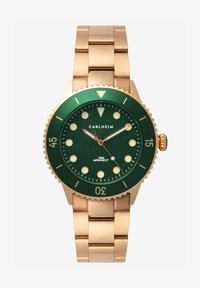 Carlheim - DIVER 40MM LINK - Montre - rose gold-green - 0