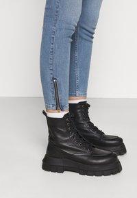 Lee - SCARLETT HIGH ZIP - Jeans Skinny Fit - light lou - 3