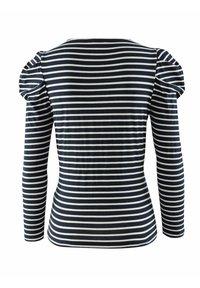 Alba Moda - Long sleeved top - black, white - 6