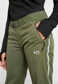 KariTraa - SIGNE PANTS - Outdoorové kalhoty - twig - 5