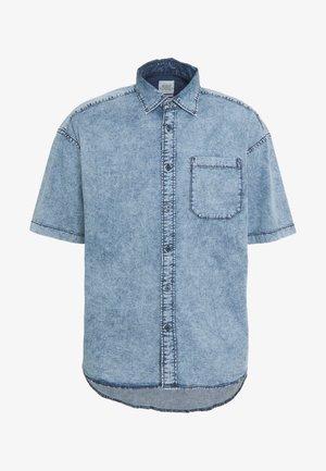 Shirt - blue bleached