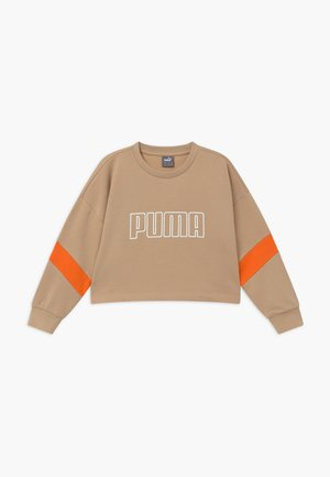 PUMA X ZALANDO GIRLS CREW - Sweater - sesame