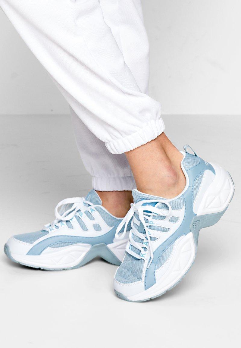 Kappa - OVERTON NC - Sportovní boty - white/ice