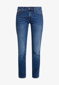 Tommy Jeans - MID RISE - Straight leg jeans - utah mid bl com - 5