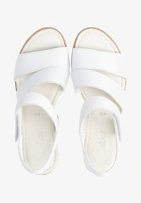 Gabor - Wedge sandals - weiãÿ - 0