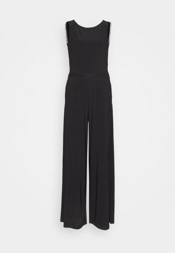 OVERALL LANG - Jumpsuit - true black