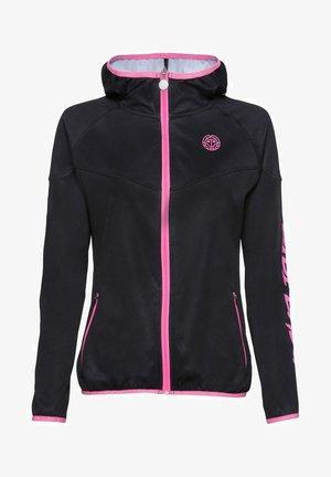 GRACE  - Training jacket - schwarz/pink