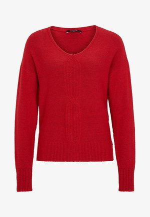 LOOSE FIT - Jumper - red