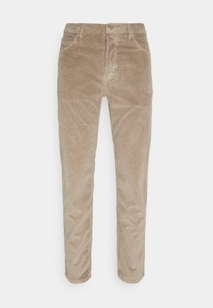 Trousers - light pastel brown