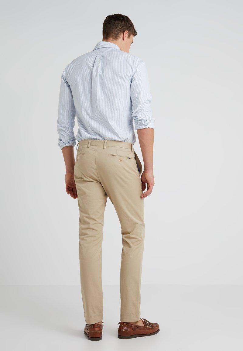 Polo Ralph Lauren Flat Pant Pantalones Classic Khaki Caqui Zalando Es